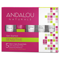 Andalou 1000 Roses Sensitive Get Started Kit
