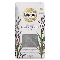Biona Organic Black Venus Rice - Wholegrain - 500g