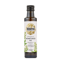 Biona Organic Hemp Seed Oil - Cold Pressed - 250ml