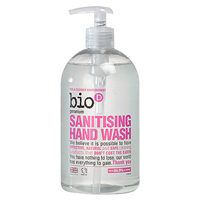 Bio D Geranium Sanitising Hand Wash - 500ml