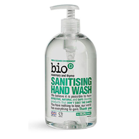 Bio D Rosemary & Thyme Sanitising Hand Wash - 500ml