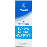 Weleda Salt Toothpaste - 2 x 75ml