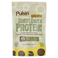 Pulsin Organic Sunflower Protein - 250g - Best before date is 30th June 2017