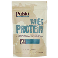 Pulsin Whey Protein Isolate - 250g - Best before date is 31st January 2019