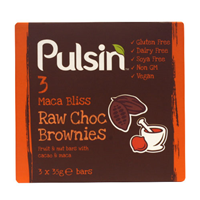 Pulsin Maca Bliss Brownie Multipack - 3 x 35g