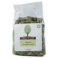 Tree of Life Organic Pumpkin Seeds - 250g