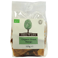Tree of Life Organic Dried Mango - 125g