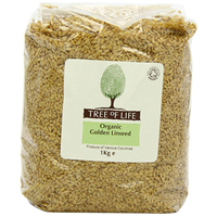 Tree of Life Organic Golden Linseed - 1kg