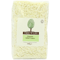 Tree of Life Organic Millet Flakes - 500g