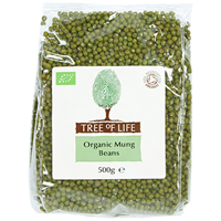 Tree of Life Organic Mung Beans - 500g
