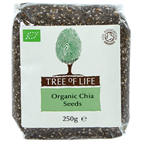 Tree of Life Organic Chia Seeds - 250g