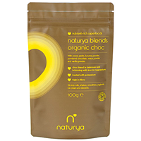 Naturya Organic Choc Blend - 100g - Best before date is 31st March 2018