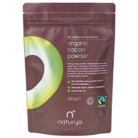 Naturya Organic Fair Trade Cacao Powder - 250g