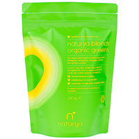 Naturya Organic Green Blend - 250g - Best before date is 31st October 2017