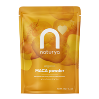 Naturya Organic Maca Powder - 125g - Best before date is 31st July 2018