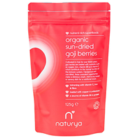 Naturya Organic Sun Dried Goji Berries - 125g