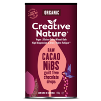 Creative Nature Organic Raw Cacao Nibs - 150g