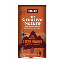 Creative Nature Organic Raw Cacao Powder - 200g