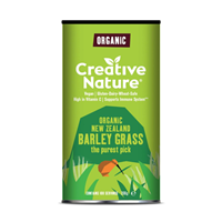 Creative Nature Organic Barley Grass Powder - 200g