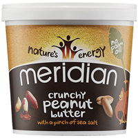 Meridian Crunchy Peanut Butter with Salt - 1kg