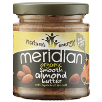 Meridian Organic Almond Butter with Salt - 170g