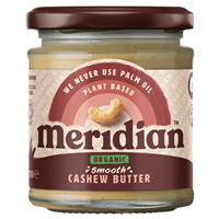 Meridian Organic Smooth Cashew Butter - 170g