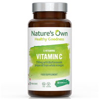Natures Own Food State Vitamin C - 50 Tablets