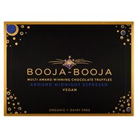 Booja-Booja Organic Around Midnight Espresso Chocolate Truffles - Best before date is 30th September 2019