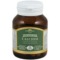 Natures Own Wholefood Calcium - 30 x 200mg Caps