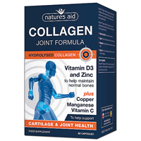 Natures Aid Collagen Joint Formula - 60 Capsules