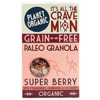 Planet Organic Paleo Granola Super Berry - 350g
