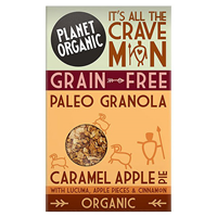 Planet Organic Paleo Granola Caramel Apple Pie - 350g