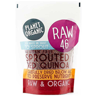 Planet Organic Sprouted Red Quinoa - 400g