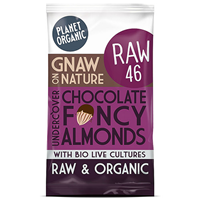 Planet Organic Undercover Chocolate Almonds - 40g