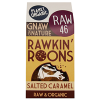 Planet Organic Salted Caramel Rawkin` Roons - 90g