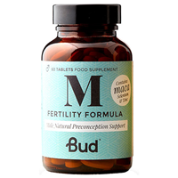 Bud Nutrition Male Fertility Formula - 60 Tablets