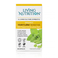Living Nutrition Your Flora: Cool Mint - 60 Capsules