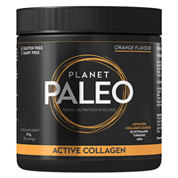 Planet Paleo Active Collagen - Orange Flavour - 210g