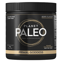Planet Paleo Primal Goddess Berry Collagen Complex - 210g Powder