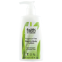 Faith in Nature Fragrance Free Hand & Body Lotion 150ml