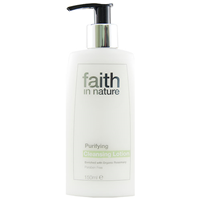 Faith in Nature Organic Purifying Cleansing Lotion - 150ml