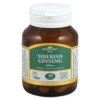 Natures Own Siberian Ginseng - 30 x 600mg Tablets