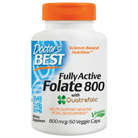 Fully Active Folate - Quatrefolic - 60 Vegicaps