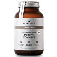 Wild Nutrition Food-Grown Methyl Connect - 60 Capsules