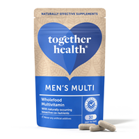 Together WholeVit Men`s Multivitamin - 30 Vegicaps