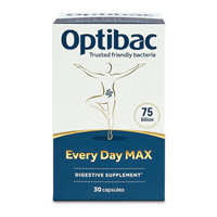 OptiBac Probiotics For Every Day MAX - 30 Capsules