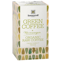 Sonnentor Green Coffee - 18 Coffee Bags