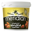 Meridian Crunchy Almond Butter - 1kg - Best before date is 31st March 2018