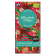 Chocolate and Love Creamy Organic Dark Chocolate - 80g Bar