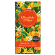 Chocolate and Love Orange Organic Dark Chocolate - 80g Bar